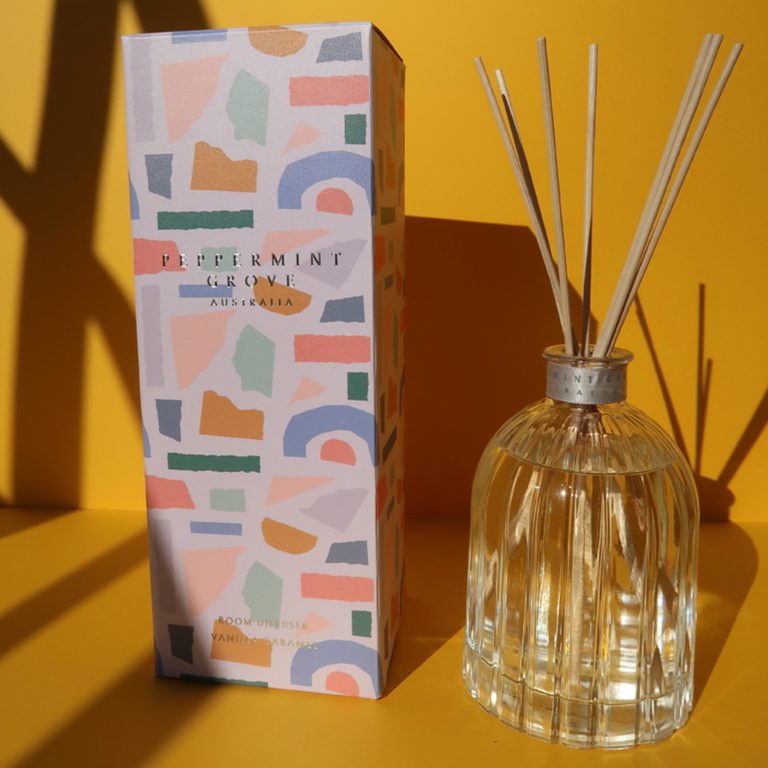 Limited Edition Vanilla Caramel Diffuser || Peppermint Grove