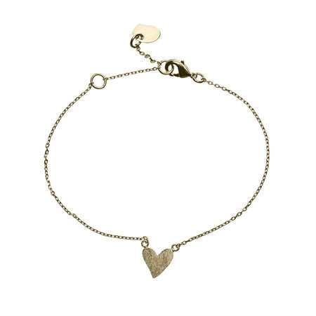Heart bracelet gold - Timi of Sweden