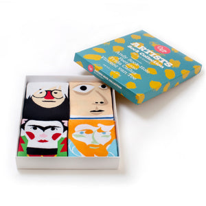 Gift Box Artist Socks Box - Chatty Feet