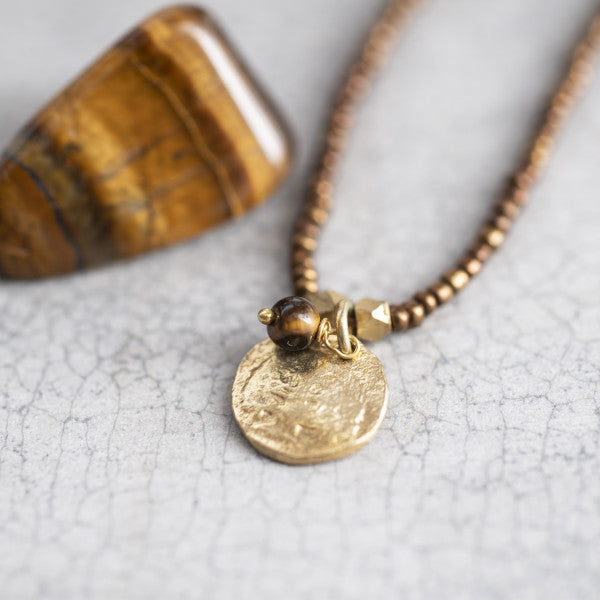 Truly tijgeroog ketting- A Beautiful Story