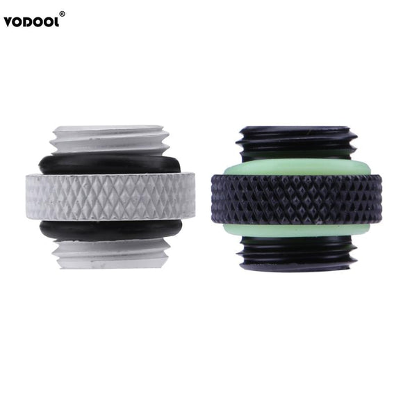 Rarido Water Tube Connector G1//4 Threading Quick Twist Water Cooling Tube Connector Wear Plate Hoop 18mm Aperture for PC Computer