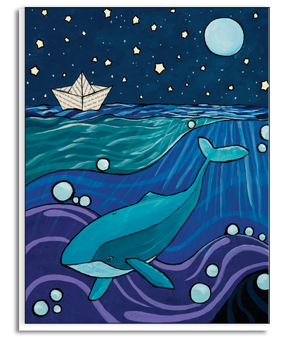 Whale Tales Greeting Card