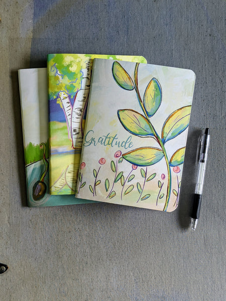 Mindset Notebook Set: Gratitude, Action and Reflection