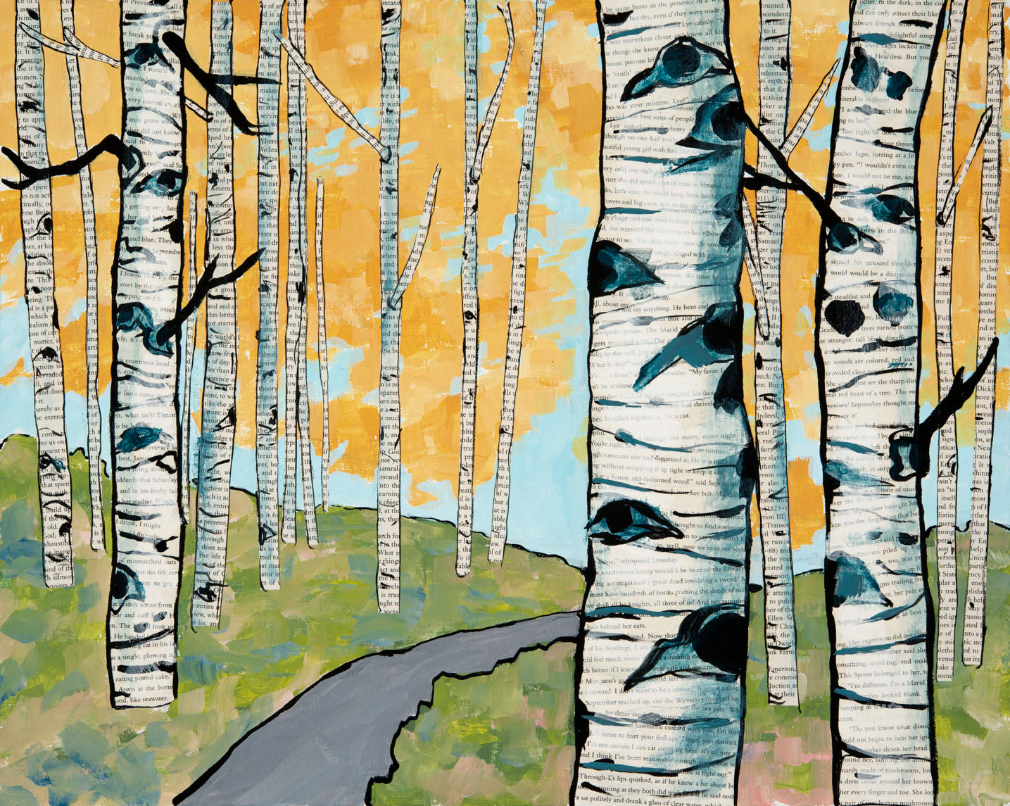 Aspen Stories Original (SOLD)