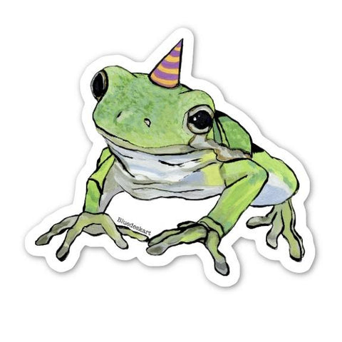 Party Frog Sticker