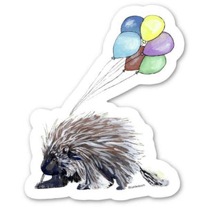 Party Porcupine Sticker