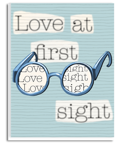 Love at First Sight Greeting Card