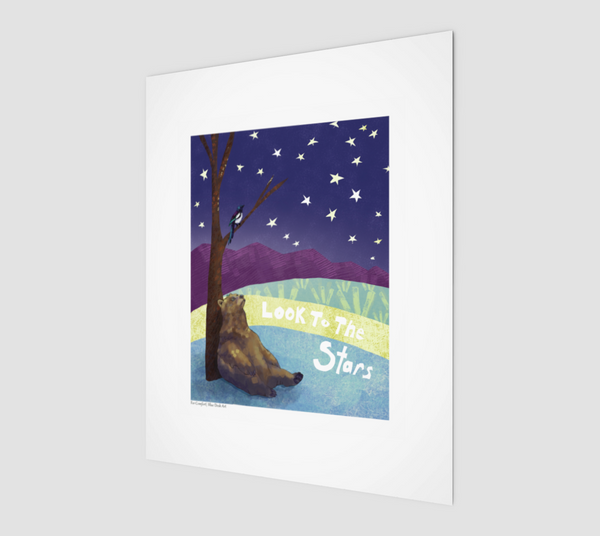 Look to the Stars 8x10 Print