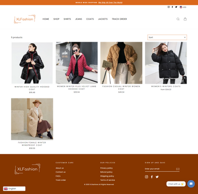 Women Fashion Wear Store