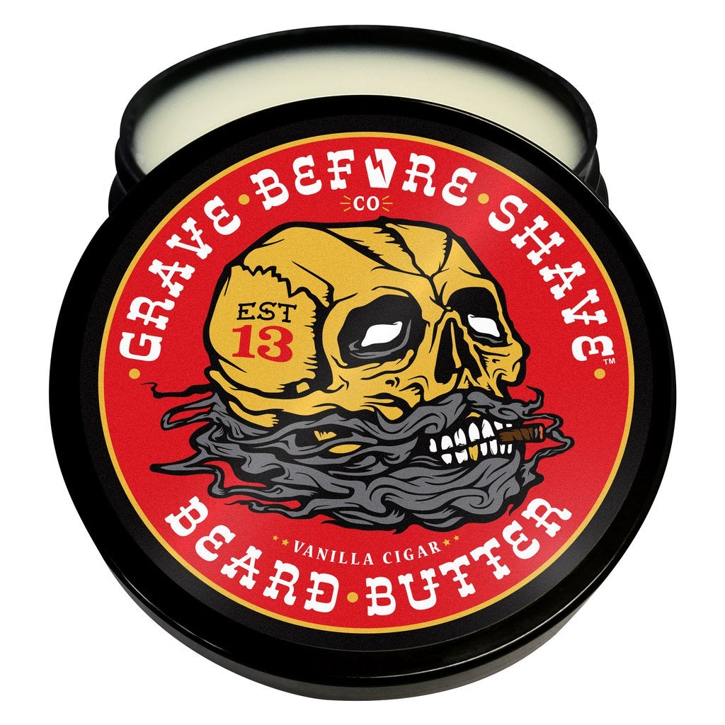 Grave Before Shave Grave Before Shave Cigar Blend Beard Butter 4oz. Container Butter 4oz. Container