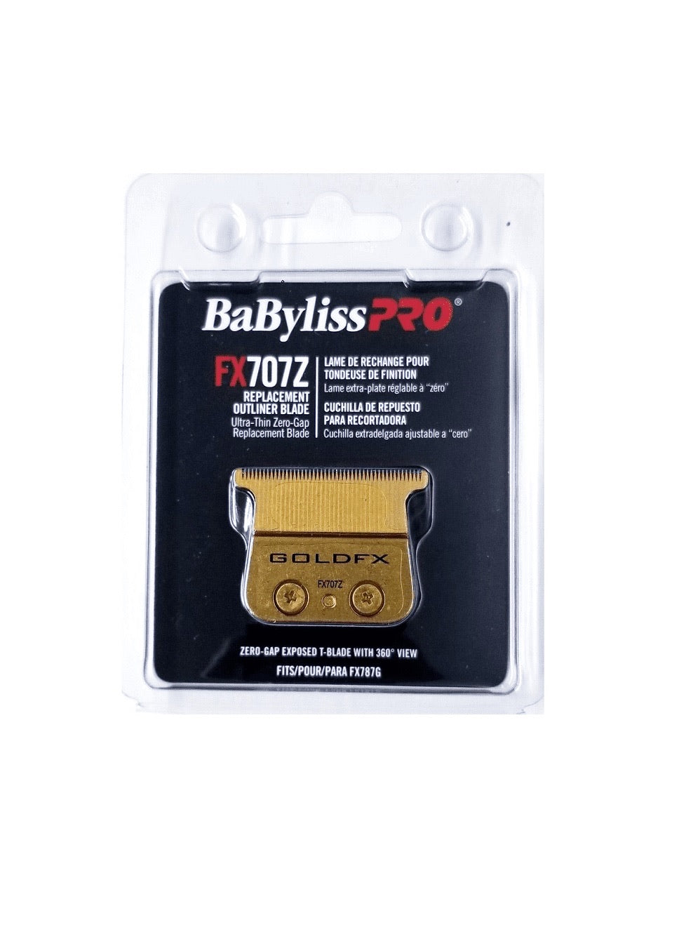 BaBylissPRO FX707Z Ultra-Thin Zero-Gap Replacement Outliner Blade
