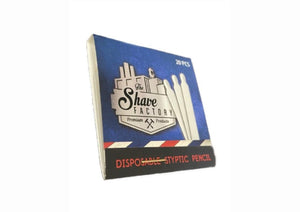 Shave Factory Styptic Pencils - 24ct Box