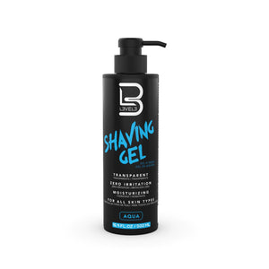 L3VEL3™ Transparent Shaving Gel - 500 ml.