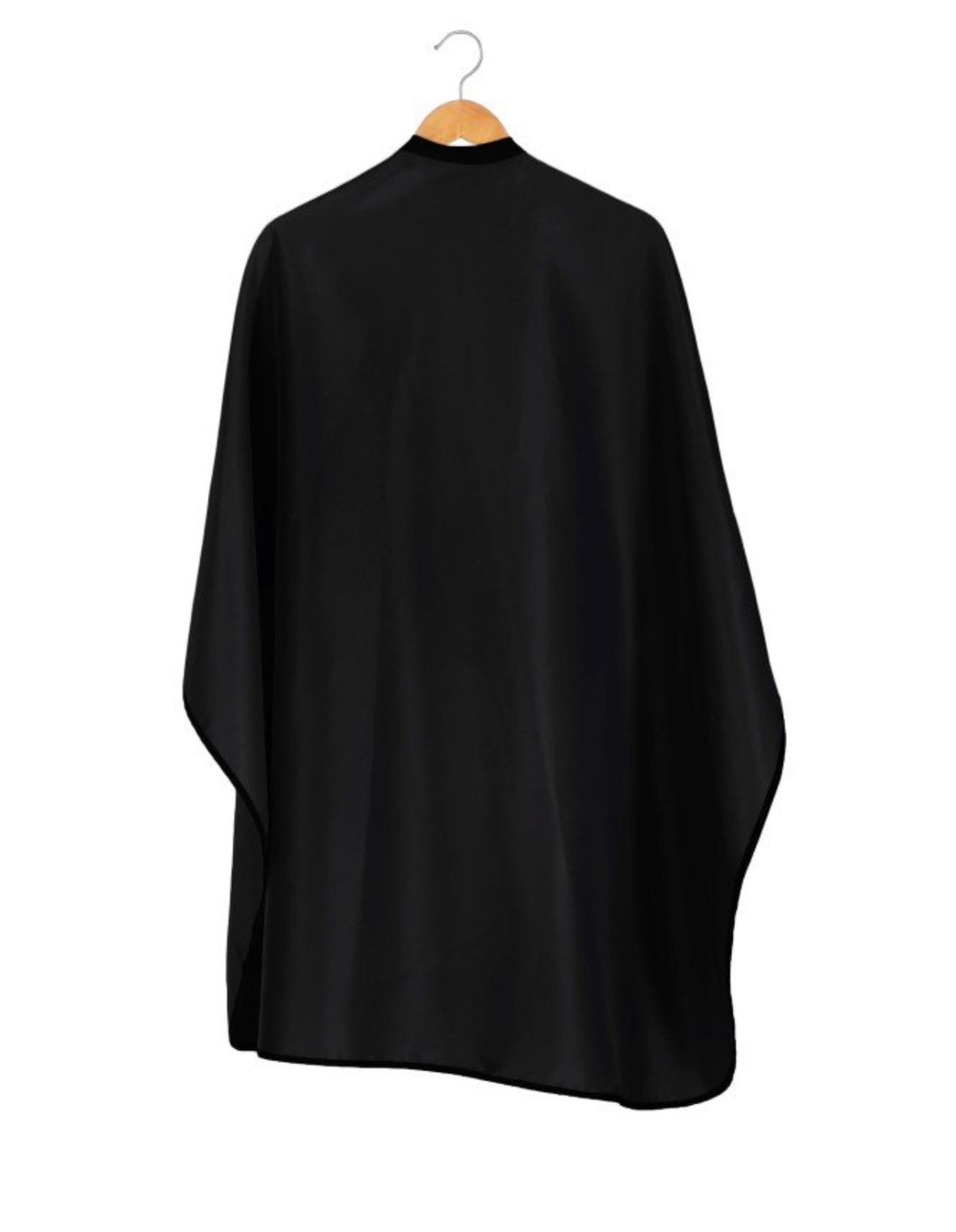 StyleTek Brushed Black Barber Cape