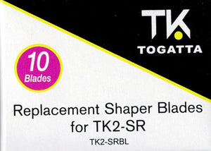 Togatta Replacement Shaper Blades 10ct