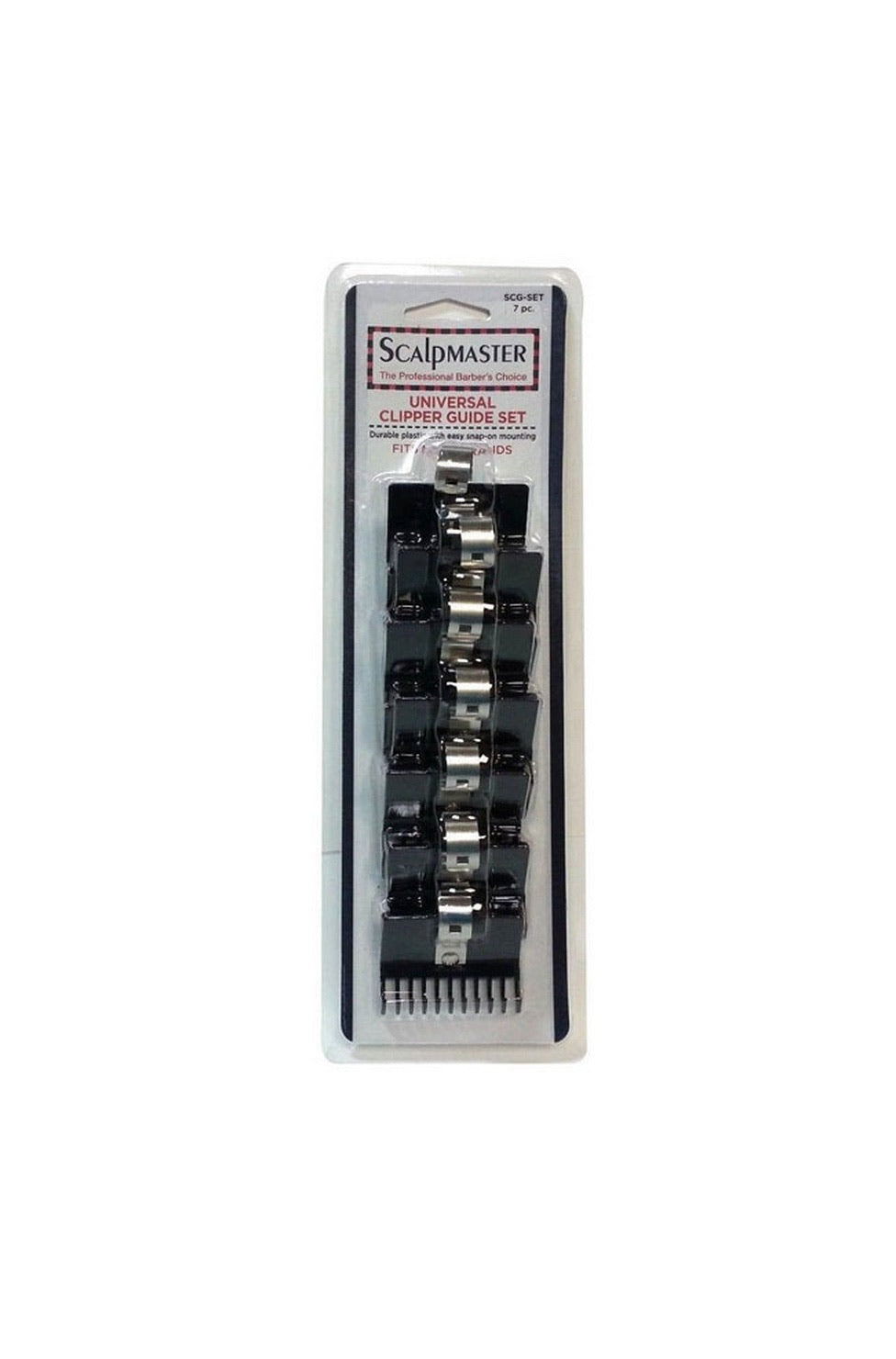 Scalpmaster Universal Clipper Guide Set