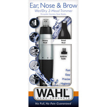 Load image into Gallery viewer, Wahl Ear, Nose And Brow 2-In-1 Trimmer