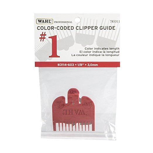 Wahl Color Coded Clipper Guide #1 #3114-603