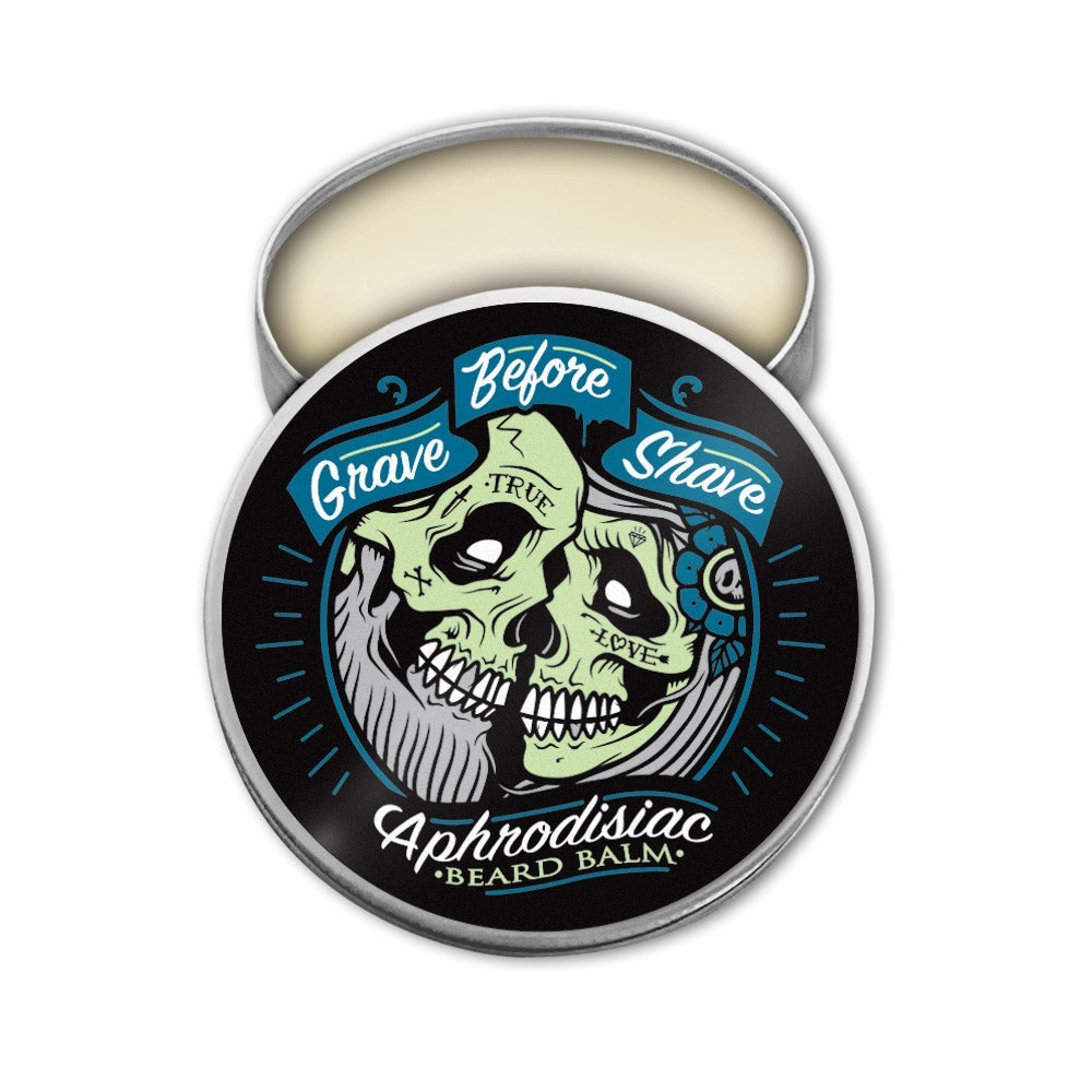 GRAVE BEFORE SHAVE Aphrodisiac Blend Beard Balm 2 oz.