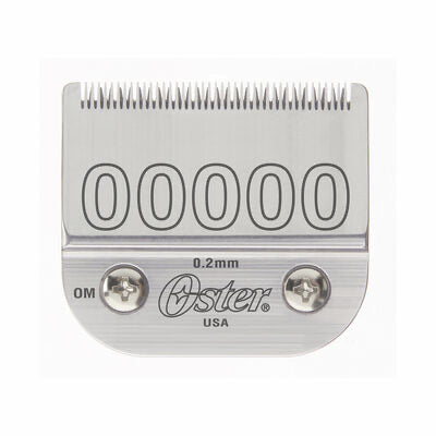 Oster® Detachable Blade Size 00000 Fits Classic 76, Octane, Model One, Model 10, Outlaw Clippers