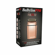 Load image into Gallery viewer, BaBylissPRO® Cordless Metal Double FOILFX02 Shaver Rose Gold FOIL FXFS2RG