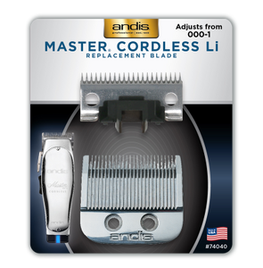 Andis Master® Cordless Replacement Blade, Carbon Steel Size 000-1