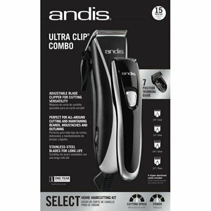 Andis Ultra Clip® Combo Home Haircutting Kit
