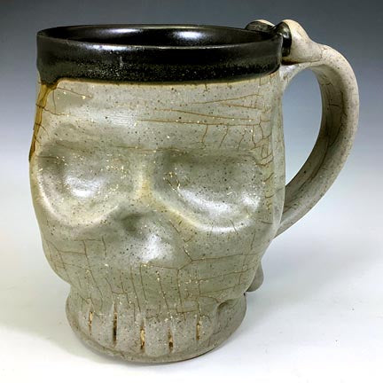 Skull Mug - Satin Rusty Slip/Black Interior