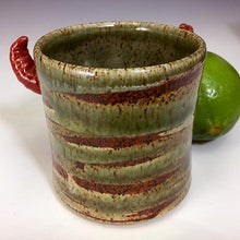 Load image into Gallery viewer, Monster Shot - Raging Katy - Cream Rust Glaze/RHorns