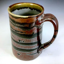 Load image into Gallery viewer, Tall Stoic Mug - Righty - Scarlet Red Glaze