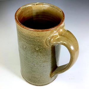 XL Stoic Mug - Righty - Shino Glaze