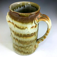Load image into Gallery viewer, XL Stoic Mug - Righty - Salty Butter Glaze - Clear Glaze Int.
