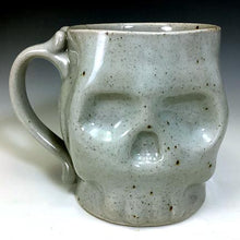 Load image into Gallery viewer, Skull Mug - ClearGlazeHighFire - Clear Glaze Interior