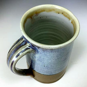 Regular Joe Mug - Tall - Rutile 3/4 - Clear Glaze Interior