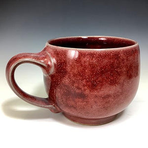 Cat's Regular Joe Mug - Luscious Ruby Glaze
