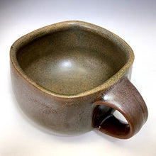 Load image into Gallery viewer, Cat's Regular Joe - Bowls with Handles - 70's Brown Glaze