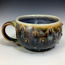 Load image into Gallery viewer, Cat's Regular Joe - Bowls with Handles - Rutile Porter Glaze - Pointy Bits