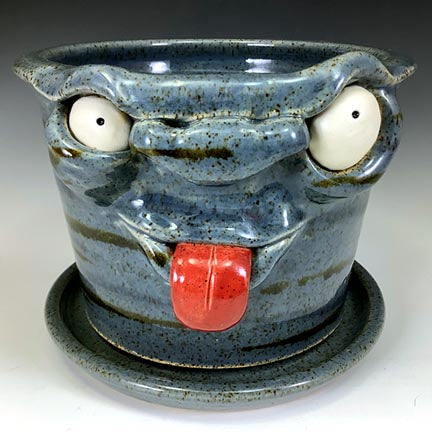 Special Request Horst 1076 Monster Planter - Twilight Blue - Naughty Boy - Nose Stripe