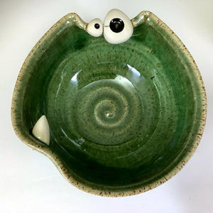 Ooglie Eye Bowl Small - SECOND - Oscar Glaze - Toof - PointyBits!