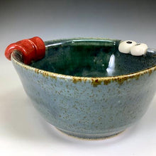 Load image into Gallery viewer, Ooglie Eye Bowl Small - Twilight Blue Glaze - Tongue - Earnest