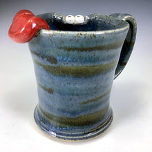 Load image into Gallery viewer, Demi Ooglie Eye Mug - RIGHTY - Twilight Blue - Tongue - LookieLft