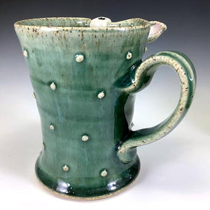 Ooglie Eye Tall Mug - RIGHTY - Oscar Glaze - OneEye - Ears