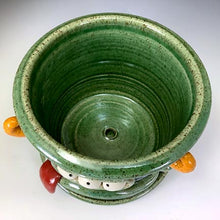 Load image into Gallery viewer, Monster Planter - Oscar Glaze - Ted Trio - OrangeHorns
