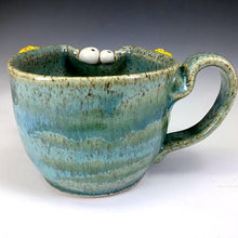 Load image into Gallery viewer, Demi Ooglie Eye Cup - RIGHTY - Seafoam Glaze - YellowHorns