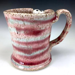 Demi Ooglie Eye Mug - RIGHTY - Pinkiedoo Glaze - OneFang