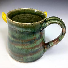 Load image into Gallery viewer, Med FaceMug-Righty-Rasp Glaze/YellHorns/Derpy