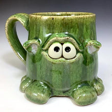 Load image into Gallery viewer, Timmit Mug - Righty - Oscar/Bigbird Glaze - Ears - Adorbs