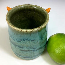 Load image into Gallery viewer, Monster Shot - Seafoam Glaze - OrangeHorns - Monoclopse