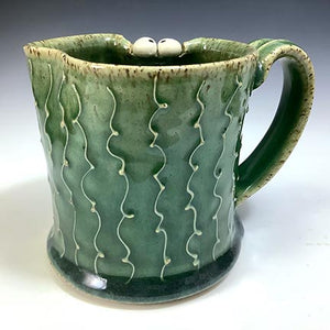 Ooglie Eye Mug - Righty - Oscar Glaze - Fang - Squiggle