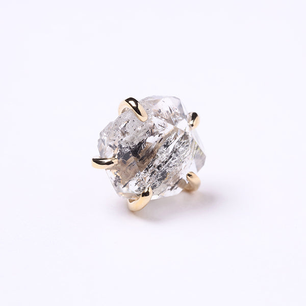 Enasoluna×STAIR Timeless pierced(herkimer quartz)